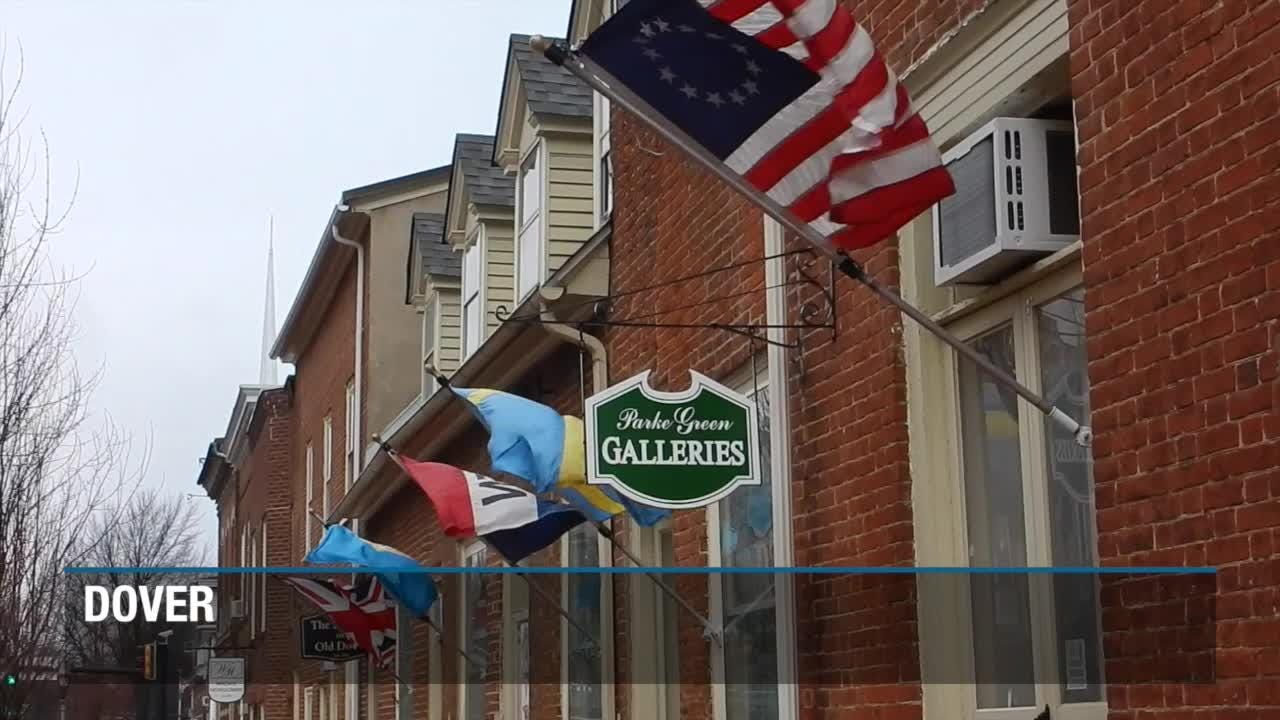 Raw video: Wind in Dover