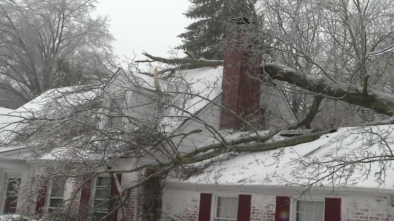 More than 30,000 Delmarva Power customers lost power during a winter storm Tuesday.  3/14/17