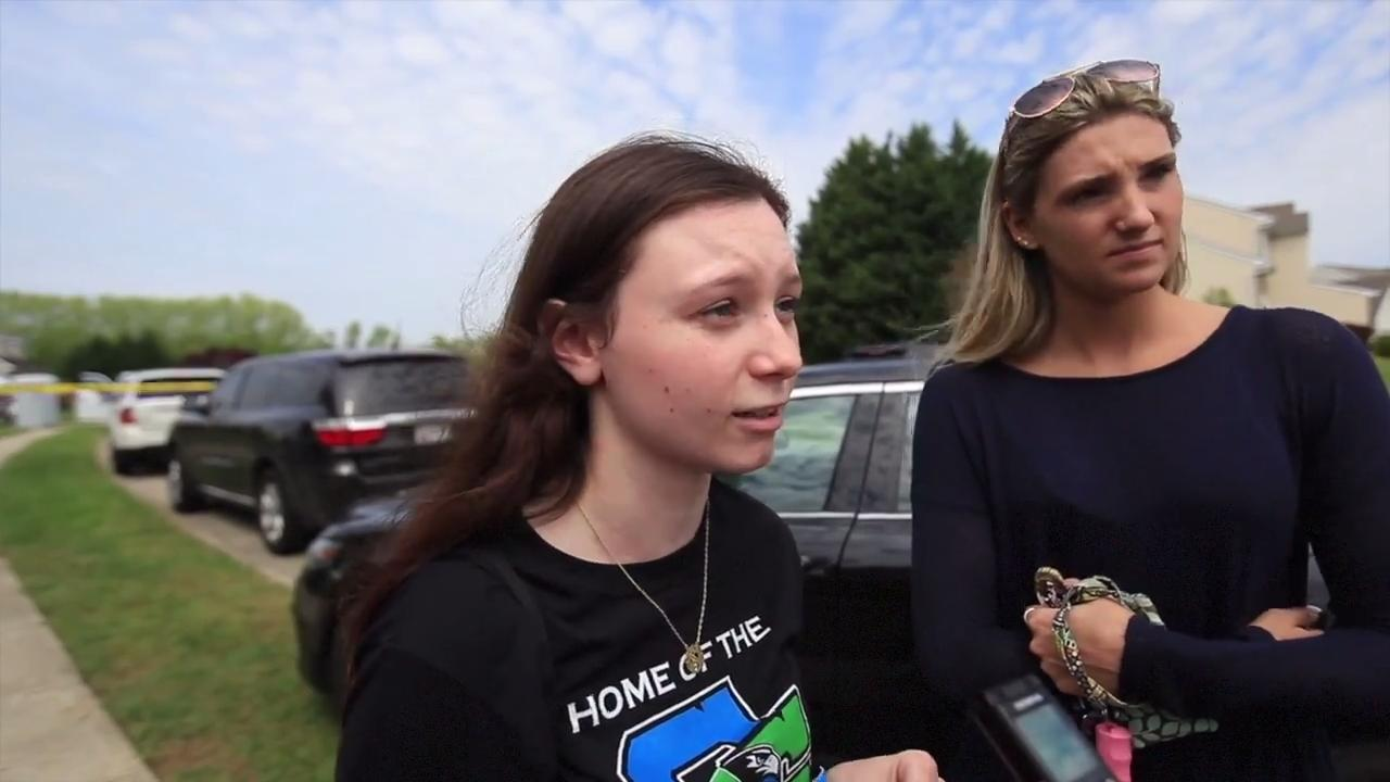 Middletown residents talk about the standoff