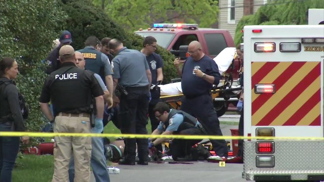 Police: Pursuit ends with suspect shot dead
