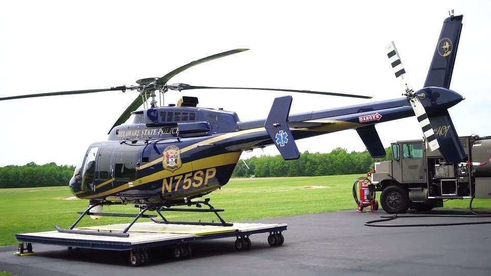 Summit Aviation honors fallen Delaware Trooper