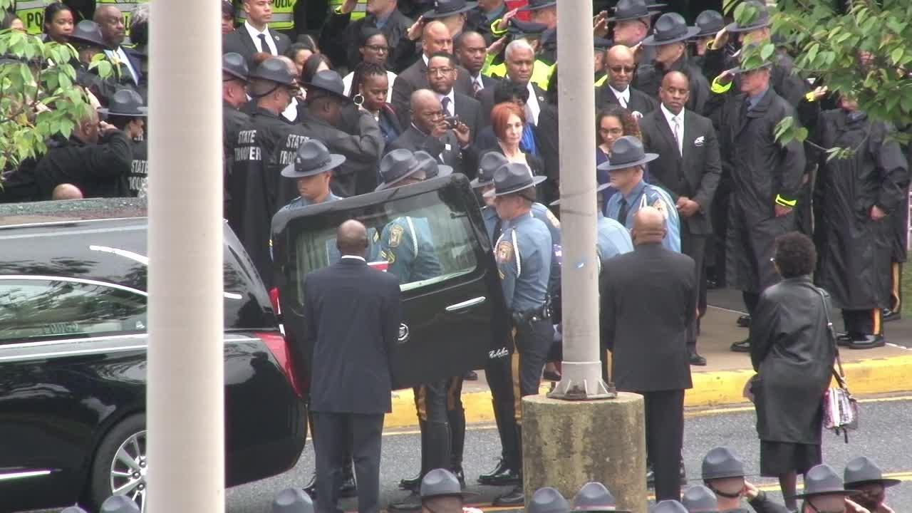 Delaware state trooper remembered in celebration of life
