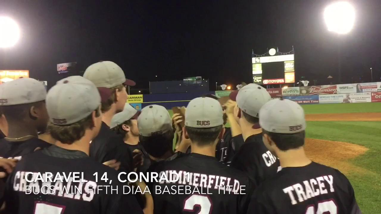 Caravel wins baseball title