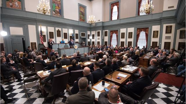 State leaders on the budget debate