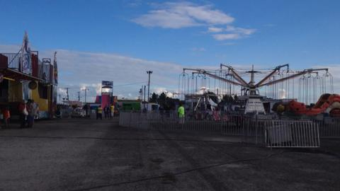 The rides and attractions at the Ottawa County Fair, running from July 14 through July 20, 2014.