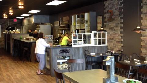 New restaurant opens on downtown Lancaster.