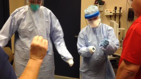 Marion General Hospital conducts Ebola training