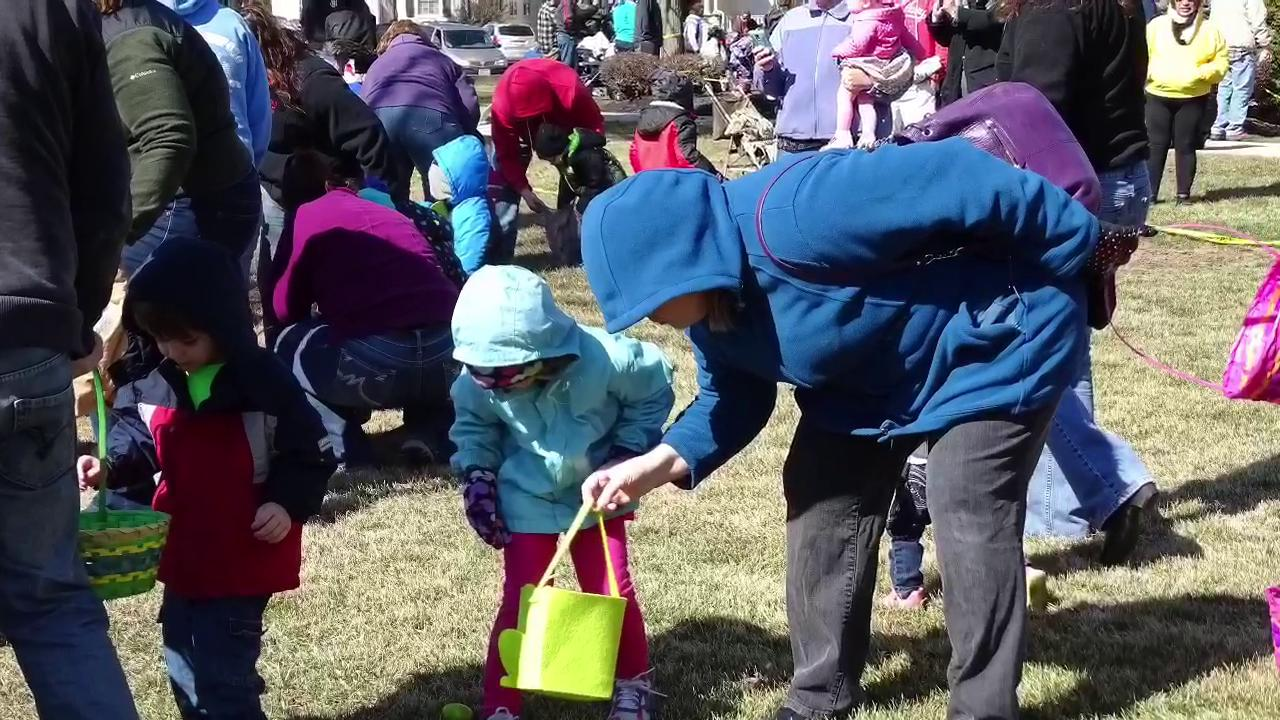 The annual Easter egg hunt took place Saturday, April 4, 2015, at the Ottawa County Courthouse.