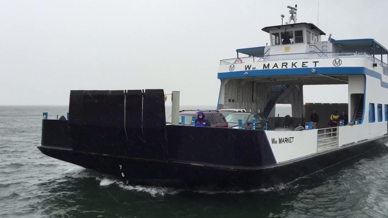 First ferry of 2015 season