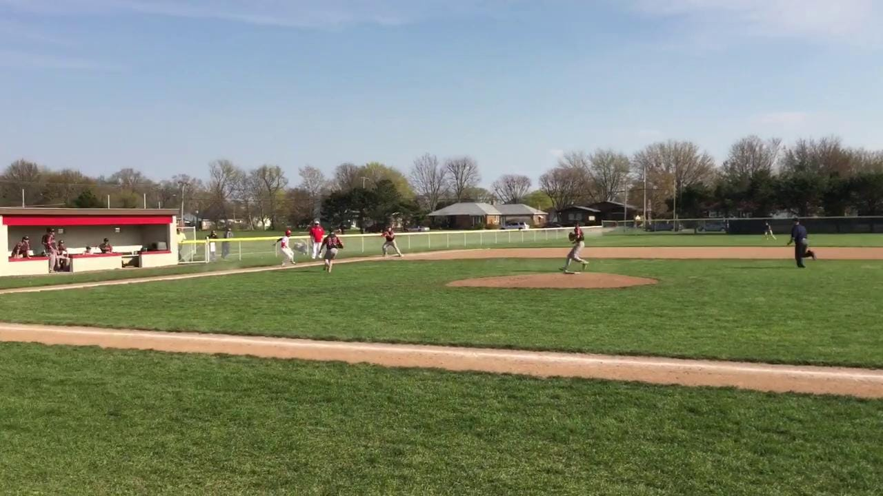 Footage from Port Clinton's conference victory Wednesday.