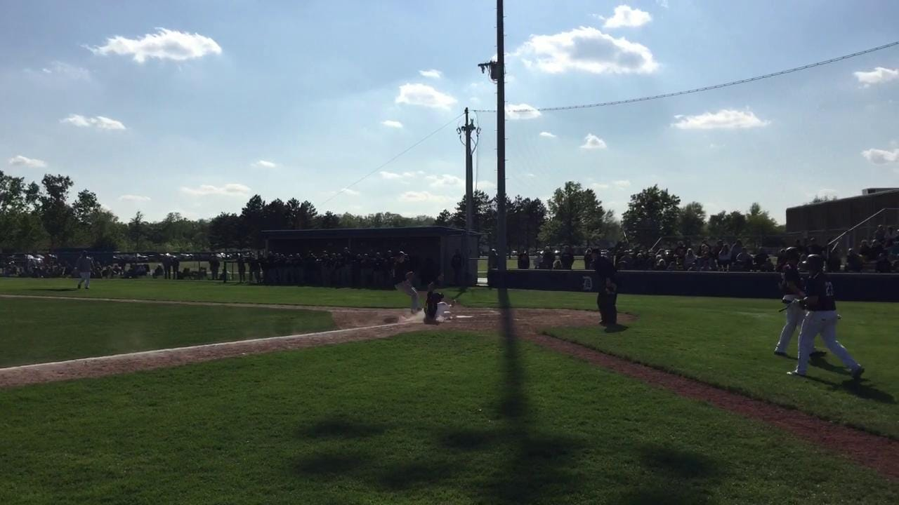 Footage from Genoa's Division III district semifinal victory Thursday at Defiance.