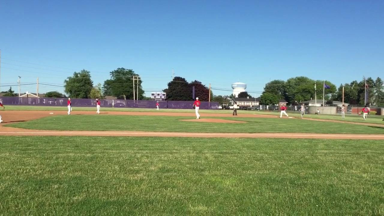 Footage from Post 121's home setback Tuesday to Findlay.