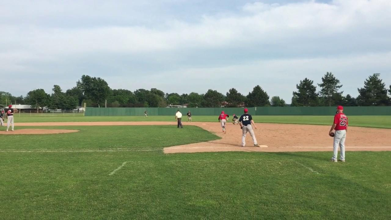 Footage from Post 83's victory Wednesday over Pemberville.