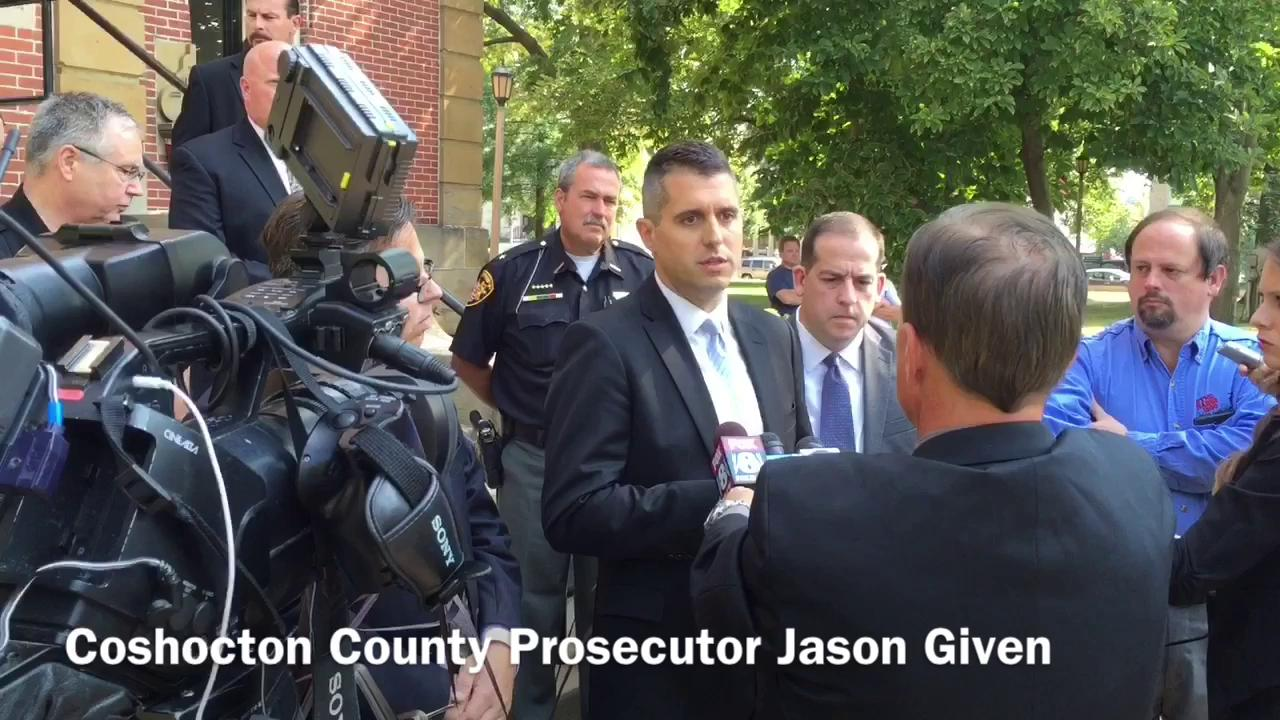 Coshocton County Prosecutor Jason Given discusses the sentencing of Robert Clark.