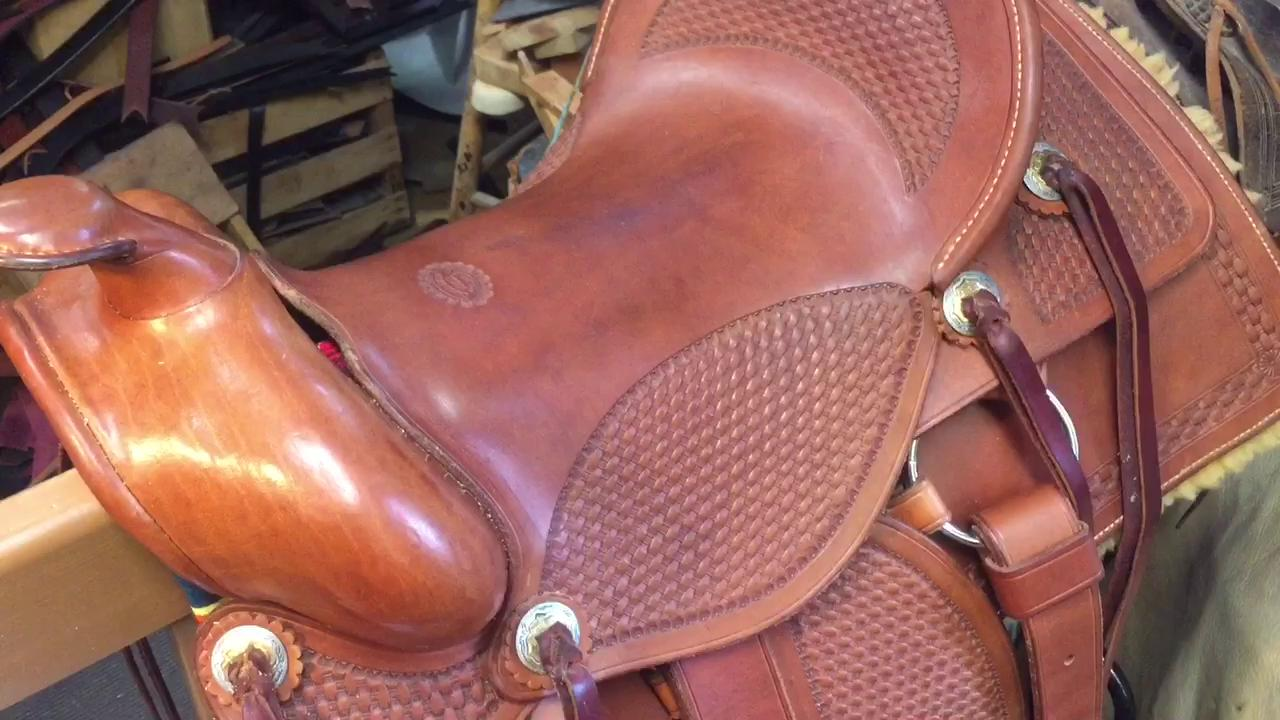 Dennis Knight of River Ridge Leather in Historic Roscoe Village is a saddler who keeps to traditions in quality and methods.
