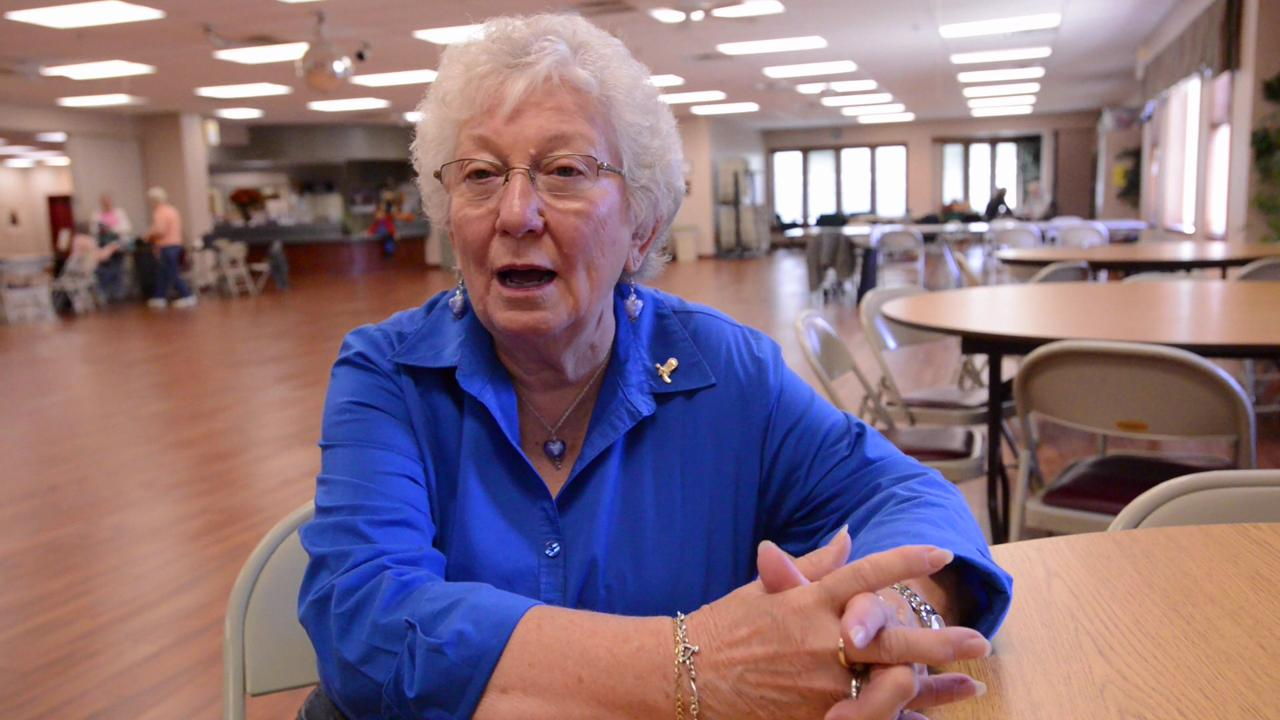 Eagle-Gazette reporter Jeff Barron doesn't dance, but took a line dancing class at Olivedale Senior Center. Watch the video to see how he did.