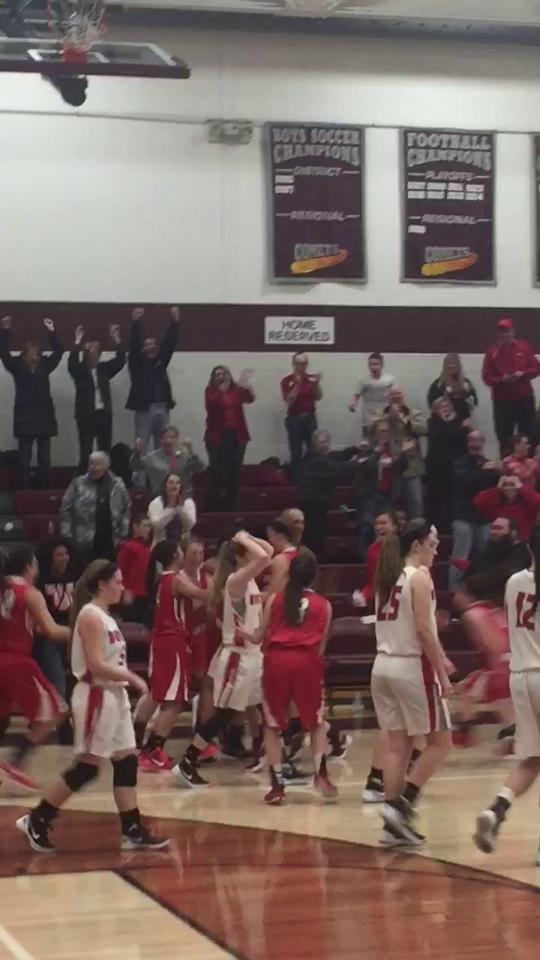 Port Clinton defeated Bowling Green on Delayna Laurel's buzzer-beating jumper Tuesday.