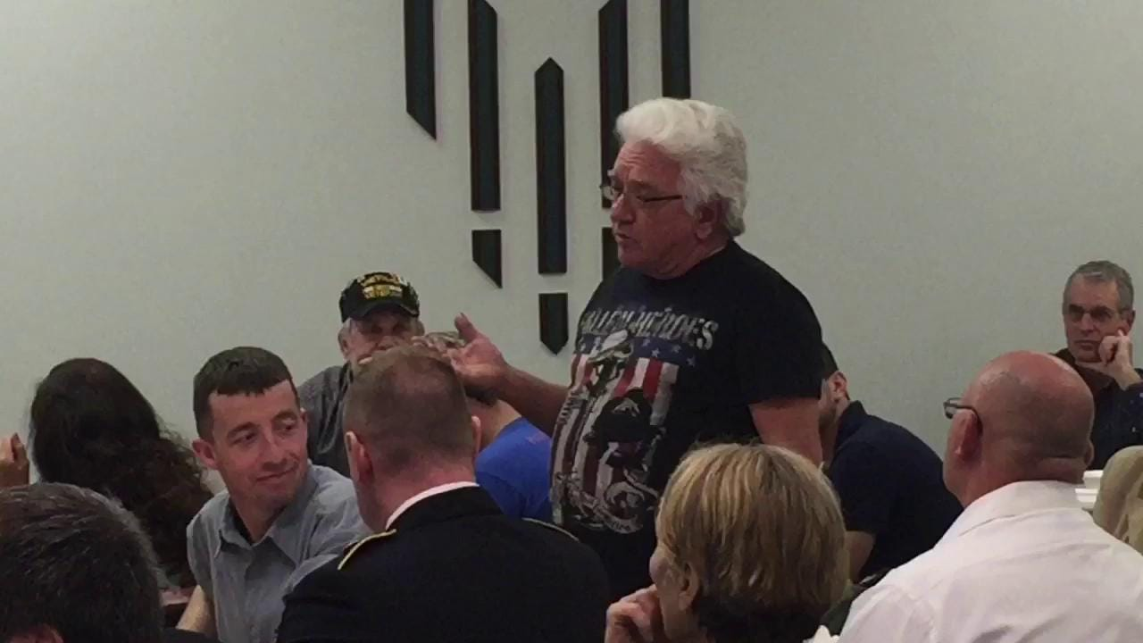 A graduation ceremony was held Wednesday, 2016 for 10 Mansfield Municipal Veterans Court participants at the FOP Lodge 32. Video by Lou Whitmire