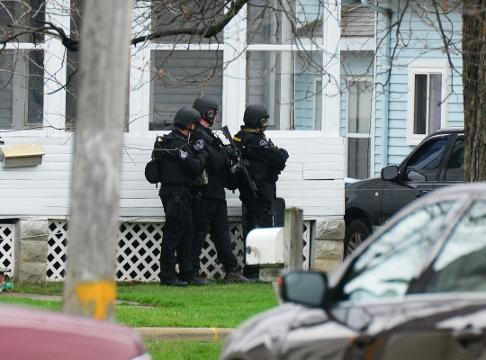A standoff at a house in the 400 block of East Third Street in Port Clinton led to police and sheriff's deputies cordoning off two streets Wednesday afternoon.