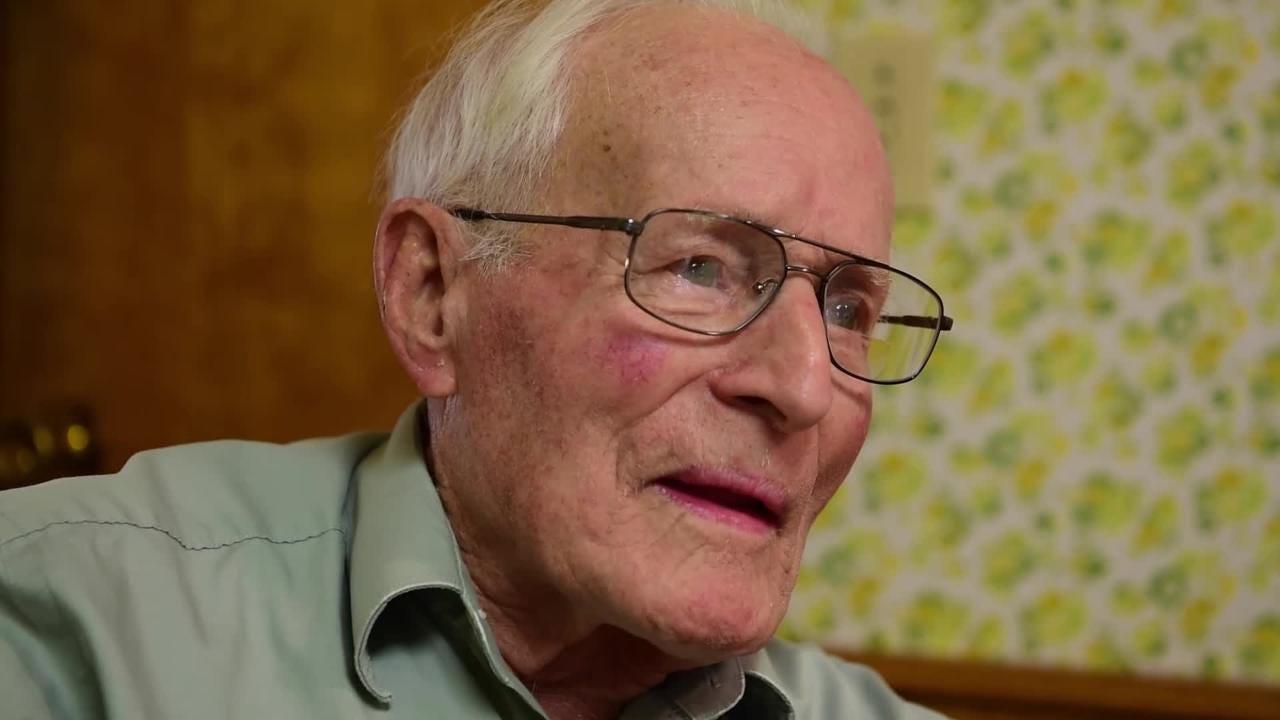 WWII veteran - Carl Cooley