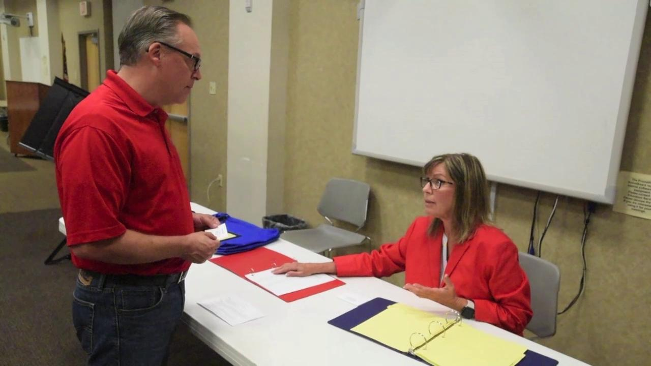 Mike Throne and Susie Natoli walk you through what it will be like going to the polls on Election Day.