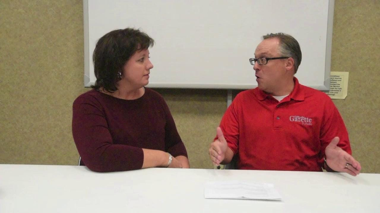Mike Throne and Sarah Williamson discuss the day of a poll worker on Election Day.