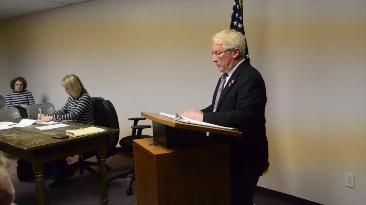 RAW VIDEO: David Smith accepts nomination as interim mayor