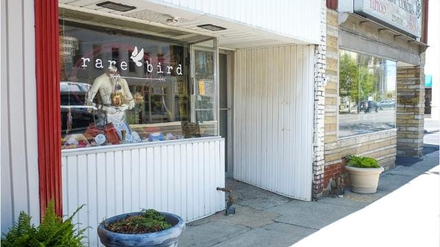 Rare Bird, a new shop located on Main Street in downtown Marion, features interesting items.