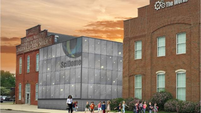 The Works is building a $1.4 million planetarium at its facility in downtown Newark.