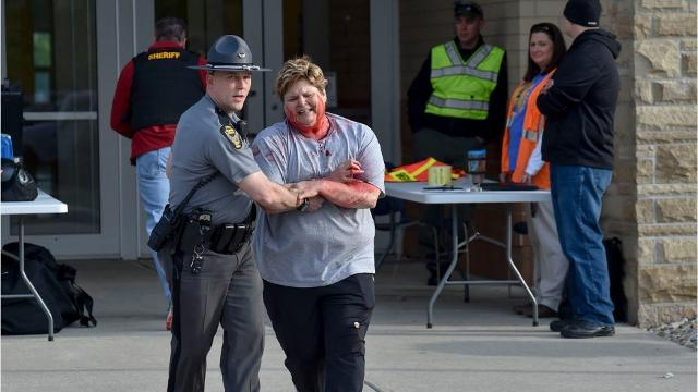 On Wednesday morning law enforcement and emergency personnel held a unique training exercise at River Valley High School.