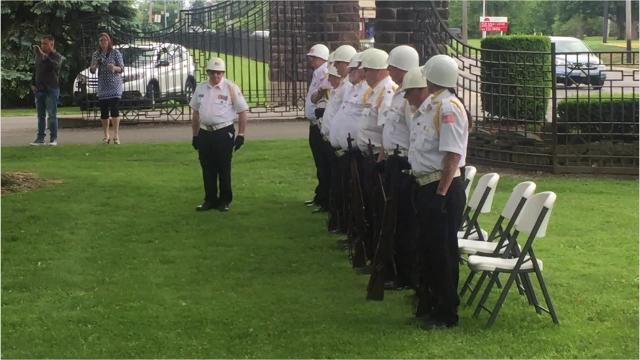 "Five Marion County law enforcement officers killed in the line of duty were honored during the annual Law Enforcement Memorial Service on May 24, 2017, at Marion Cemetery. The honor guard fired a 21-gun salute to honor the deceased and ""Taps"" was played at the conclusion of the service."