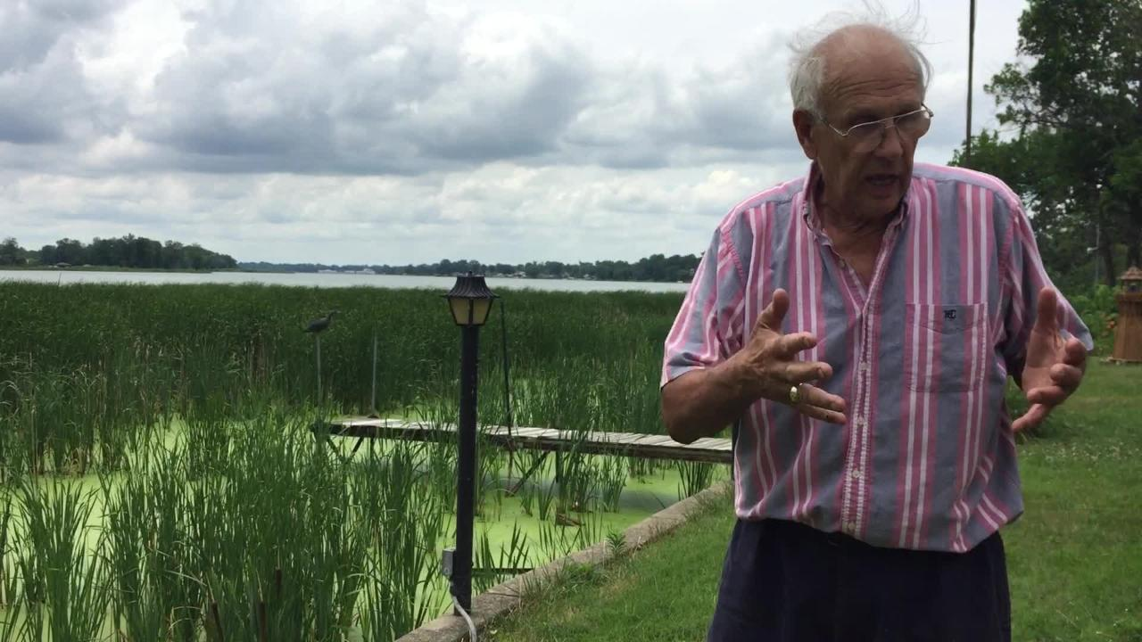 Steve Bretz can watch boats and jet skis speed across Buckeye Lake from his lake front property, but he can't join them.