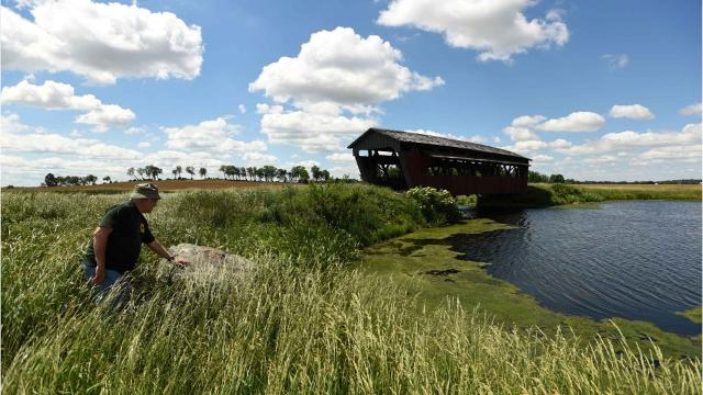 The Fairfield County Historical Parks Commission plans to move the historic Mary Ruffner covered bridge back to Fairfield County from its current location on a Perry County Farm. The commission plans to put the bridge on over Fetters Run near Forest Rose School.