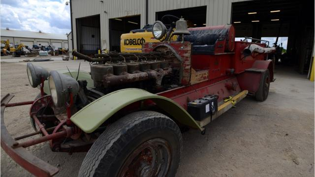 Lancaster's first fire truck will be on display June 24 and 25 at Engine House No. 1 as part of the Lancaster Heritage Tour.
