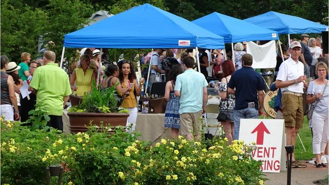 Kingwood Center Gardens held its first Wine Walk and Chef's Tasting Saturday, featuring seven Ohio wineries and five local chefs. The event was such a hit, organizers already plan to make it annual. More than 500 people came out to enjoy drinks and food on the Kingwood grounds.