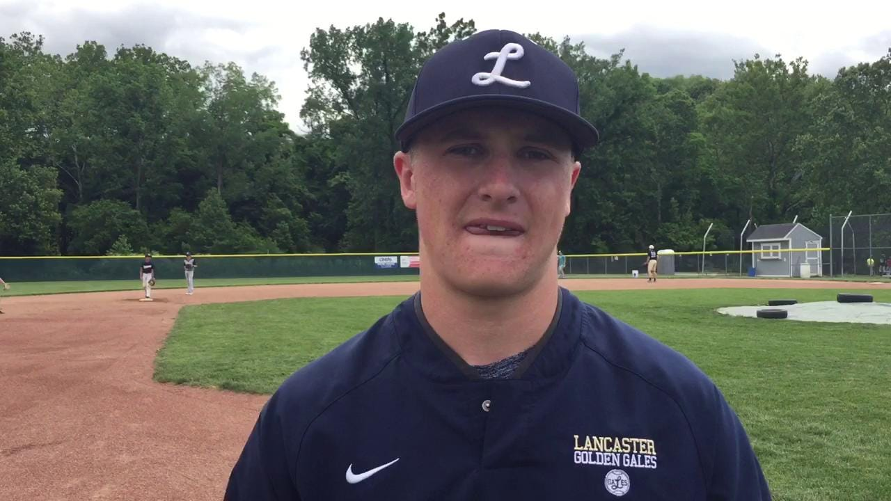 Lancaster senior Noah Dryden is the 2017 Eagle-Gazette Baseball Player of the Year.