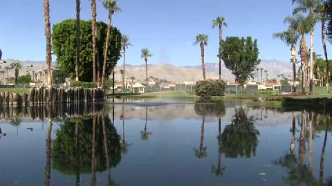 Groundwater declines beneath man-made desert oasis