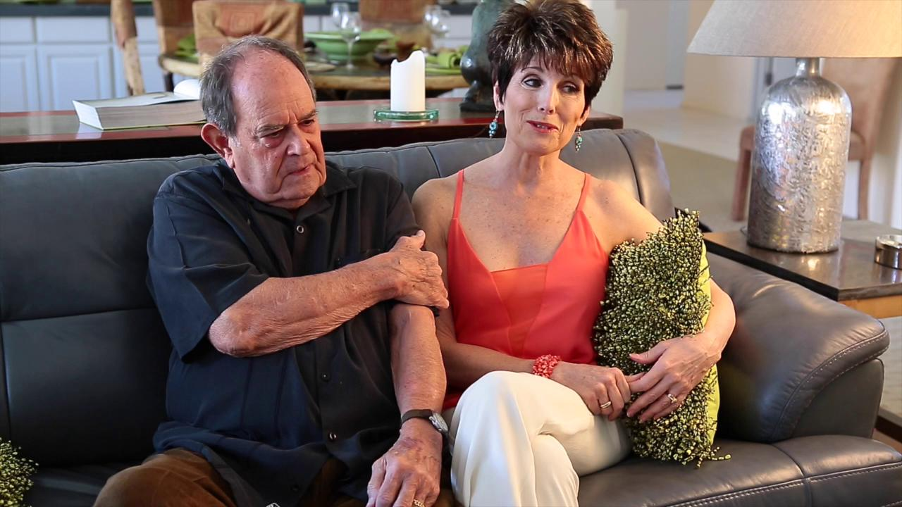 Lucie Arnaz and husband Laurence Luckinbill talk about decision to move to Palm Springs.