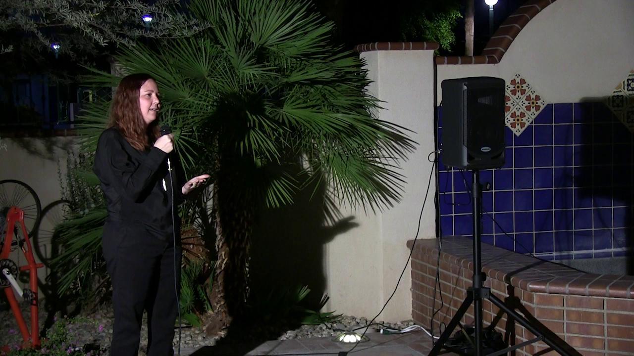 Storyteller Kristi Rabe
