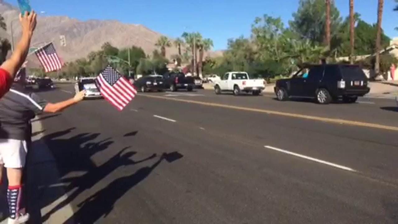 Video: Officer Lesley Zerebny procession