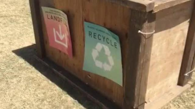 Coachella: Where recycling doesn't happen enough