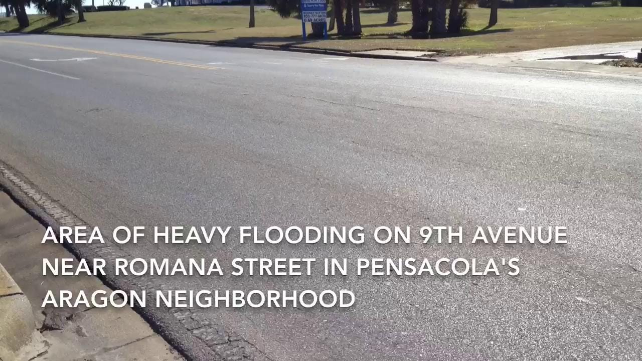 Flood control in Pensacola