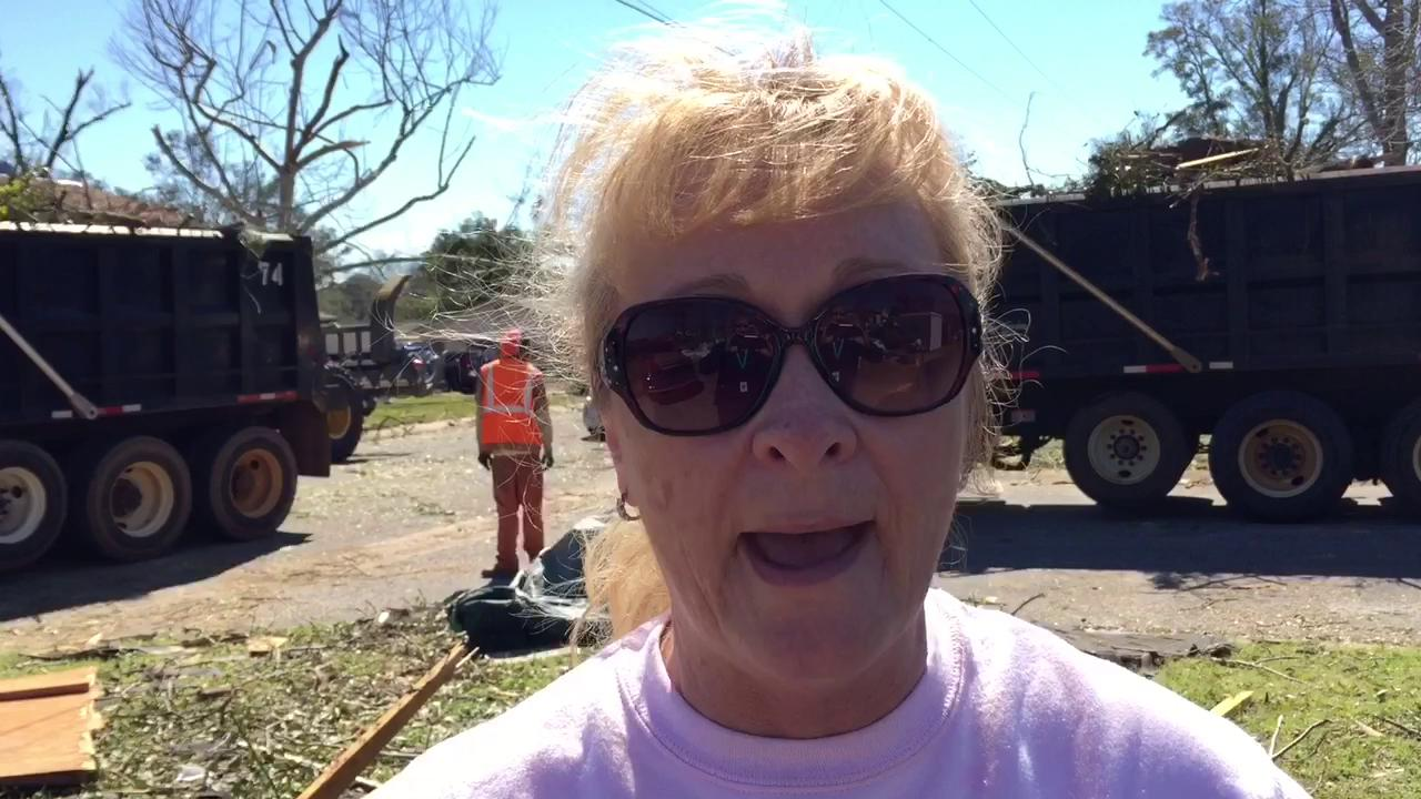Tornado damage latest setback for woman who's overcome one setback after another: