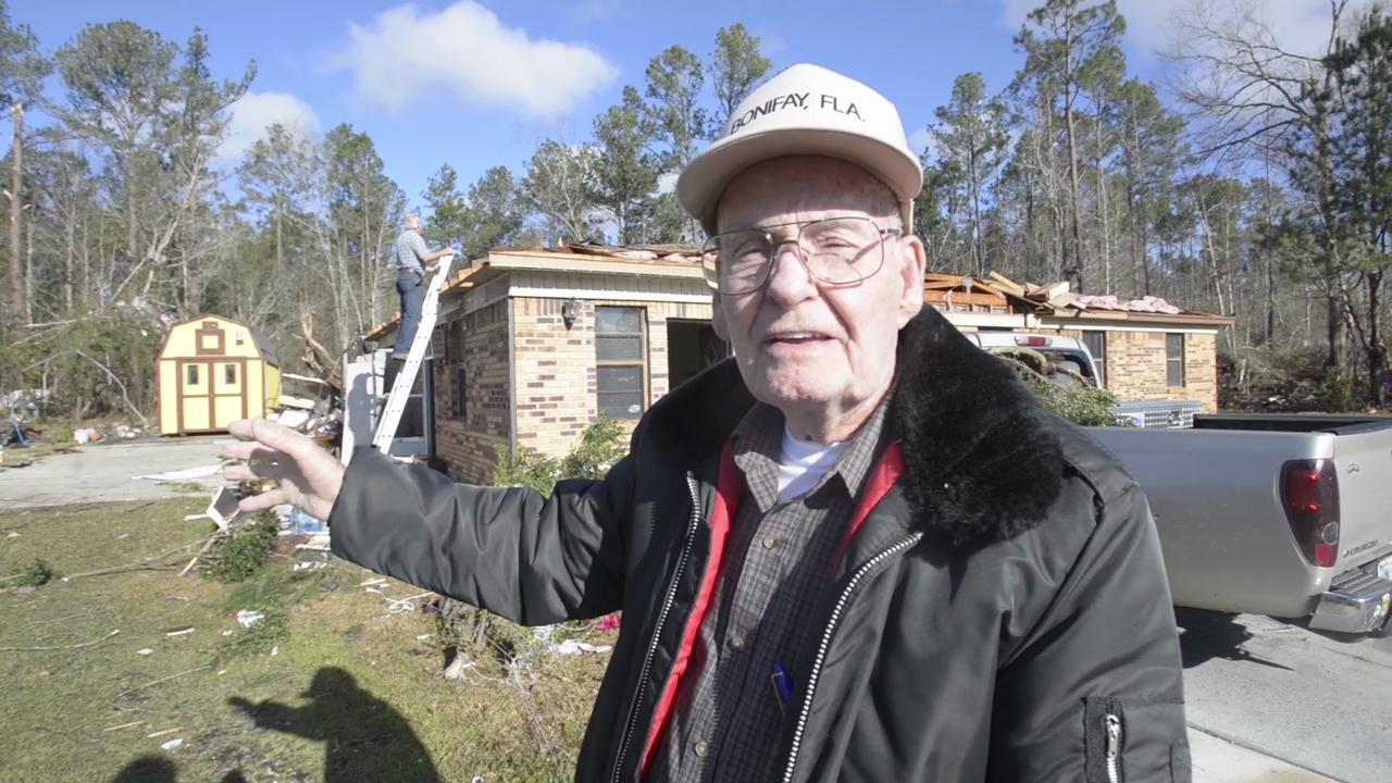 Century resident describes coming face to face with tornado