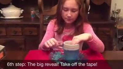 PNJ's 12 Days to Christmas - Glitter-dipped cup