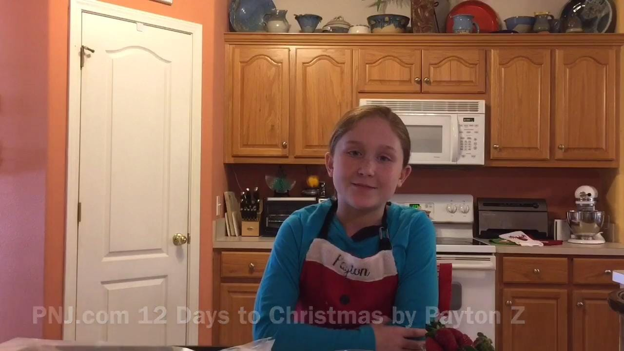 12 days to christmas: chocolate-covered strawberries