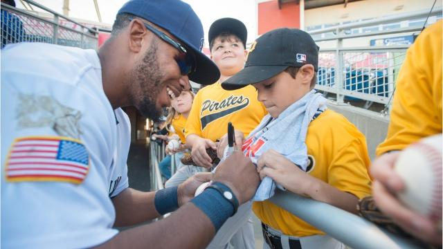 The Pensacola Blue Wahoos welcomed new and old faces alike back to Blue Wahoos Stadium on Thursday for the first game of the season.