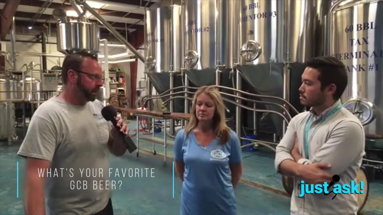 Watch our Just Ask! with Gulf Coast Brewery