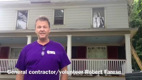 VIDEO: Pawling veteran gets help with home