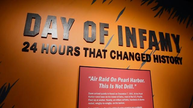 New exhibit at FDR Library highlights first hours post-Pearl Harbor